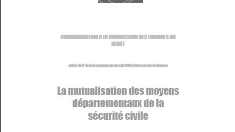 La mutualisation des moyens d partementaux de la s curit civile cfdt pompiers pats - Grille salaire police municipale ...