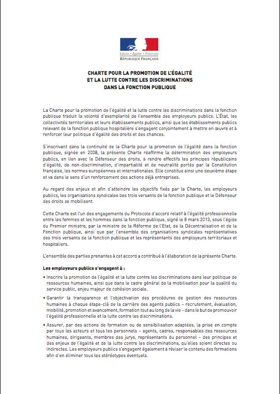 Charte discrimination cfdt pompiers pats - Grille salaire police municipale ...
