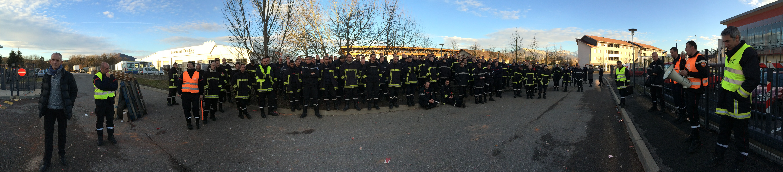 Gr ve merci tous les agents du sdis 74 cfdt pompiers pats - Grille salaire police municipale ...
