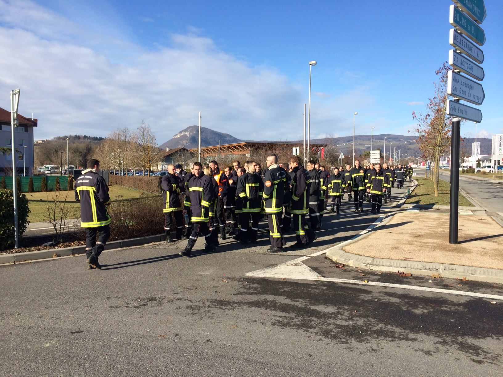 Photo 35 cfdt pompiers pats - Grille salaire police municipale ...