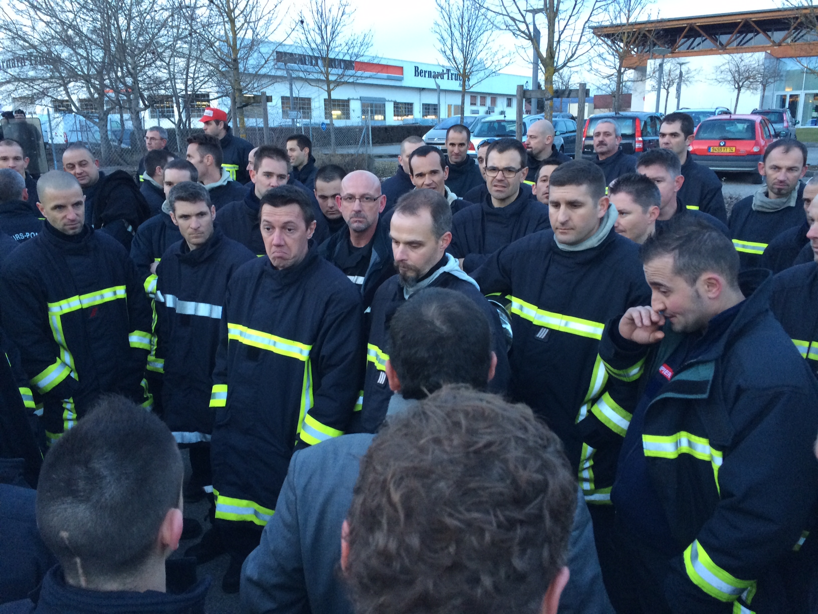 Photo 59 cfdt pompiers pats - Grille salaire police municipale ...