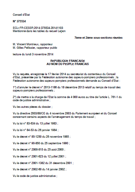 Conseiletat04112014 cfdt pompiers pats - Grille salaire police municipale ...